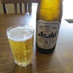 大谷食堂 - 瓶ビール(アサヒスーパードライ)