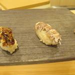 鮨 うら山 - シャコ2種