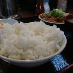 かつ美食堂 - ご飯(中)