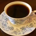 オリエンタルカフェ - ブレンドコーヒー「大正」(380円)。