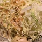 鶏魚Kitchenゆう - キャベツサラダ (*´ω`*) ごまドレnice