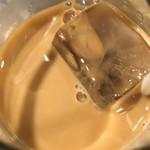 鶏魚Kitchenゆう - アイスコーヒー(*´ω`*) ミルク