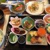 味処 坂 - 料理写真:★★★☆ 日替ランチ+蓮根まんじゅう、かき揚げ、アイスクリーム ¥1,500