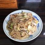 らーめん薩摩 - 料理写真:太麺皿うどん650円です。