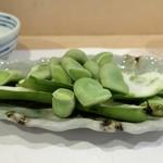 よし春 - 茹で空豆