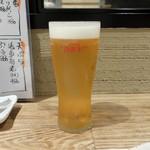 天ぷら 市 - 生ビール