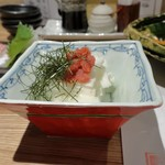 天ぷら 市 - 長芋短冊
