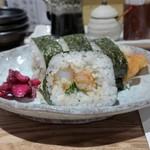 天ぷら 市 - 天むすのり巻
