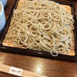 蕎麦きり吟 - 料理写真:せいろ大盛