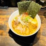 鷹流 - 白鶏麺全部のせ(1,000円)