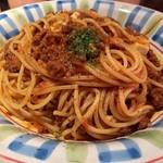 マカロニ食堂 - ミートソーススパゲティ