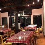 マカロニ食堂 - 2階の客席