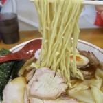 とら食堂 - 「焼豚ワンタン麺味玉入り」(1130円)