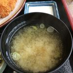 とんかつ 勝よし - 味噌汁