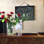 カフェ マルゴ - 花が