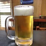 埼玉屋 - 生ビール 中