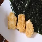 堂本 - 中身と田庄の海苔