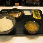 吉野家 - 【朝食】「塩鯖定食」です。