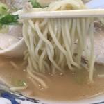 Musashiramen - 麺はカタでお願いしました