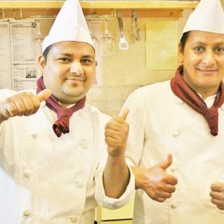 北インドの高級レストランで10年以上修業したシェフが腕を振う