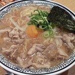 8613959 - 肉そば(煮玉子入り) (¥787)