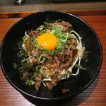 京都 肉食堂 - 焼肉丼 単品 780円(税込)