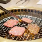 焼肉 銀座コバウ - 上タン塩
