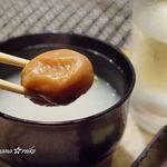 焼肉 銀座 コバウ - 梅のスープ