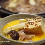 焼肉 銀座 コバウ - 黒毛和牛日本風すき焼き