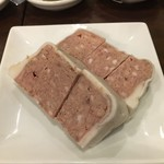 肉山 おおみや - 5000円コース1品目「豚のパテ」