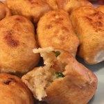 ファイト餃子 - この餡がトロリとして甘みが強まる感じです