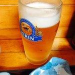 ゑじま - 極上ランチビール