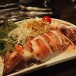 居酒屋 菜づ菜 - イカの素焼きアップ