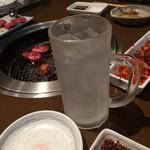 大衆焼肉 寿 - レモンチューハイ