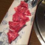 大衆焼肉 寿 - メガネ(希少部位)塩