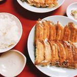 86138108 - 焼き餃子+ライス