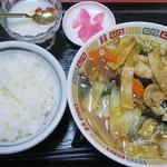 正康楼 - 五目タンメン定食