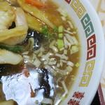 正康楼 - スープ
