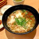 スシロー - *濃厚えび味噌ワンタンメン(¥330)