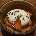 サカナバル - 練りウニと半熟玉子