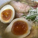 Menyahiro - 麺屋 裕 蟹塩そば アップ