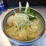 麺匠 呉屋 - 海老そば+味付玉子