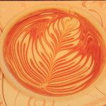 カフェ フェリース - こういうラテアートが書けるよう日々練習してます! byオーナー