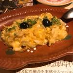 86151607 - 干し鱈とジャガイモの卵炒め