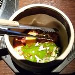 和牛焼肉 勢 - 「名物・壺漬けカルビ (1350円)」