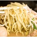 竹ちゃんタンメン - 香りの強い麺。