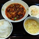 86153689 - 「四川麻婆豆腐ランチ」900円