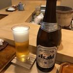 鮨 波づき - ドリンク写真:瓶ビール