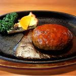 炭火焼肉 森辻亭 - デミグラスソースハンバーグ