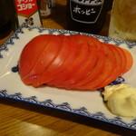 長兵衛 - 冷やしトマト400円